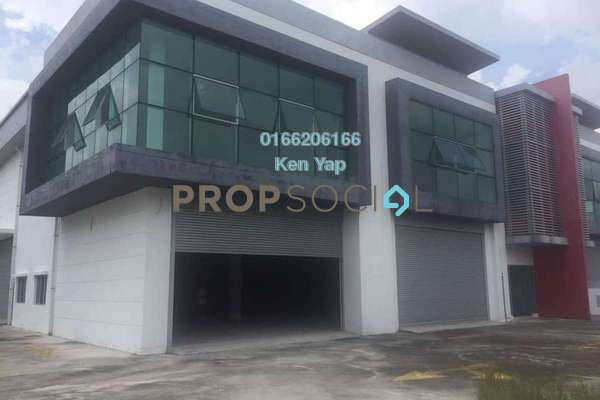 For Sale Factory at Mega 2 Industrial Park, Kajang Freehold Unfurnished 0R/4B 4.38m