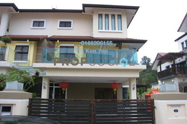 For Sale Semi-Detached at Taming Mutiara, Bandar Sungai Long Freehold Semi Furnished 7R/6B 1.25m