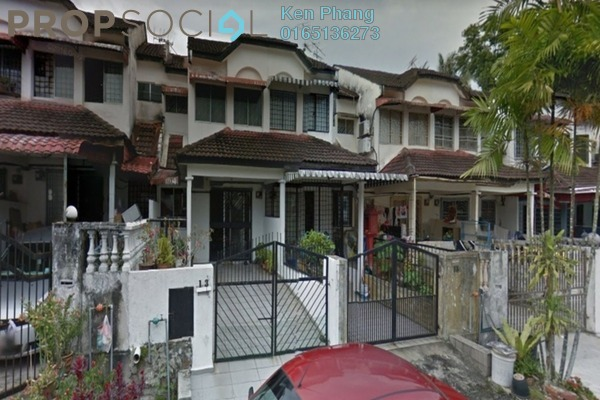 For Rent Terrace at Taman Cheras Awana, Cheras Freehold Semi Furnished 3R/2B 1.2k