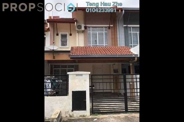 For Sale Terrace at Nobat, Bandar Bukit Raja Freehold Semi Furnished 4R/3B 545k