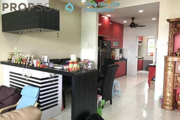 For Sale Terrace at Casa Bella, Bandar Bukit Raja Freehold Fully Furnished 4R/3B 660k