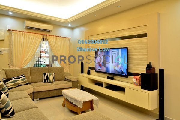 For Sale Terrace at Puteri 12, Bandar Puteri Puchong Freehold Semi Furnished 4R/3B 945k