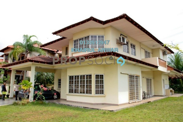 For Sale Bungalow at Section 8, Shah Alam Freehold Semi Furnished 5R/4B 1.6m