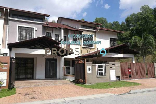 For Sale Terrace at Jelutong Heights, Bukit Jelutong Freehold Semi Furnished 4R/4B 1.13m