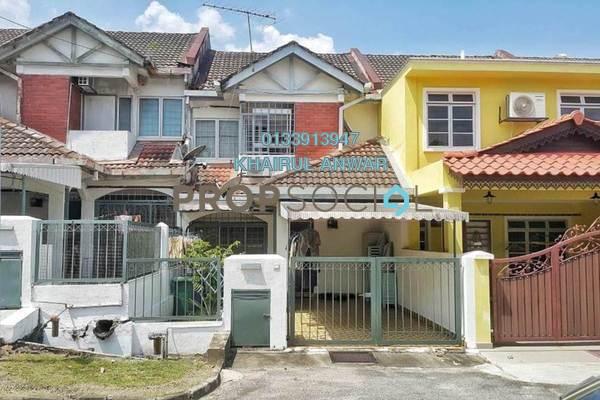 For Sale Terrace at Taman Wangsa Melawati, Wangsa Maju Freehold Semi Furnished 4R/3B 725k