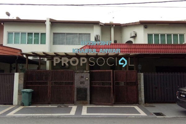 For Sale Terrace at Ampang Prima, Ampang Freehold Semi Furnished 5R/4B 790k