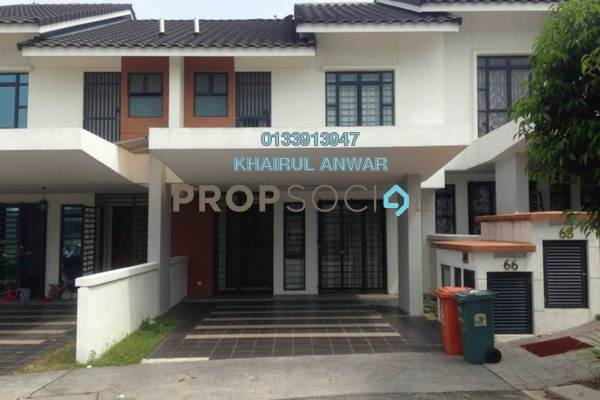 For Sale Terrace at Precinct 11, Putrajaya Freehold Fully Furnished 4R/3B 960k