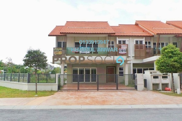 For Sale Terrace at Temasya Citra, Temasya Glenmarie Freehold Unfurnished 8R/7B 3.85m