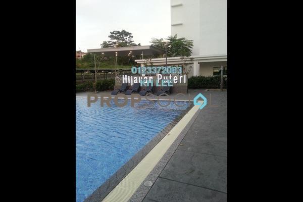 For Rent Condominium at Hijauan Puteri, Bandar Puteri Puchong Freehold Semi Furnished 3R/2B 1.3k