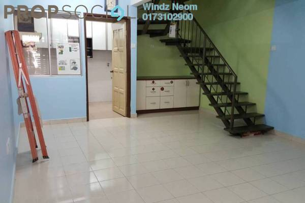 For Sale Terrace at Taman Sri Sinar, Segambut Freehold Semi Furnished 3R/3B 540k