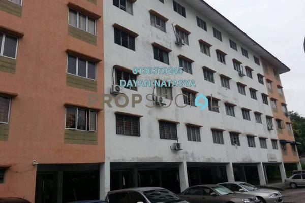 For Sale Apartment at Taman Sekamat, Kajang Freehold Unfurnished 3R/2B 140k