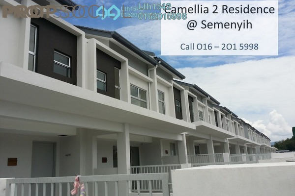 For Sale Terrace at Camellia Residence, Semenyih Freehold Unfurnished 3R/2B 496k