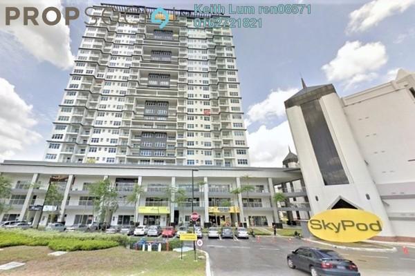 For Sale Condominium at Skypod, Bandar Puchong Jaya Freehold Semi Furnished 3R/2B 610k