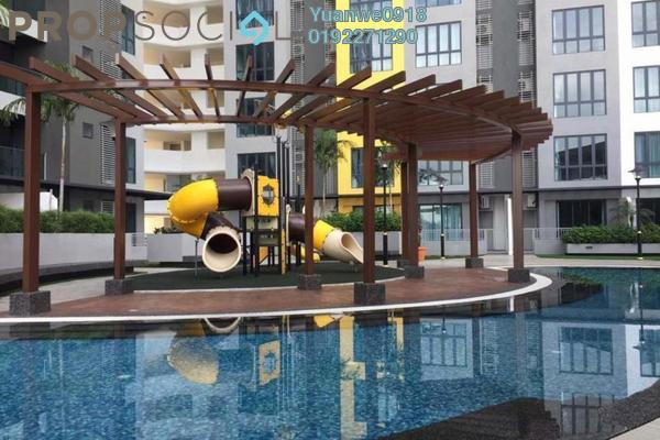 For Rent Condominium at Silk Sky, Balakong Freehold Unfurnished 3R/2B 1.3k