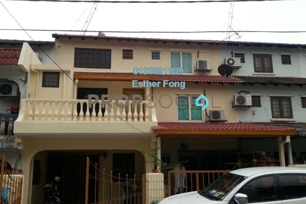For Sale Terrace at Taman Sri Sinar, Segambut Freehold Fully Furnished 3R/3B 478k