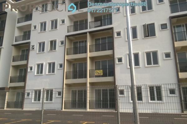 For Rent Apartment at Crestin Park, Kajang Freehold Semi Furnished 3R/2B 1k