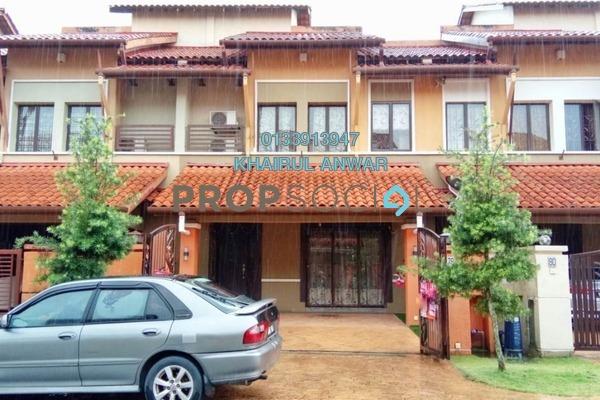 For Sale Terrace at Bukit Jelutong Timur, Bukit Jelutong Freehold Semi Furnished 4R/5B 1.1m