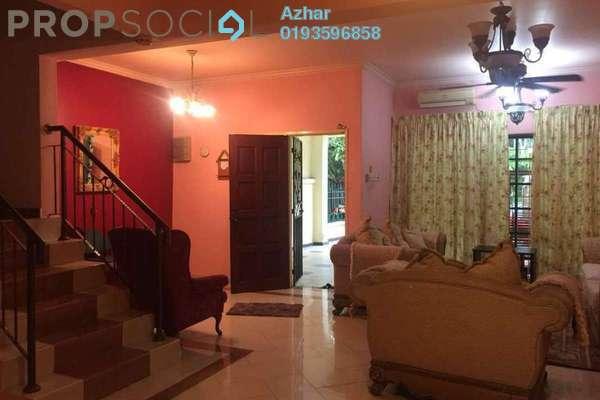 For Rent Terrace at SD10, Bandar Sri Damansara Freehold Semi Furnished 4R/3B 2.5k