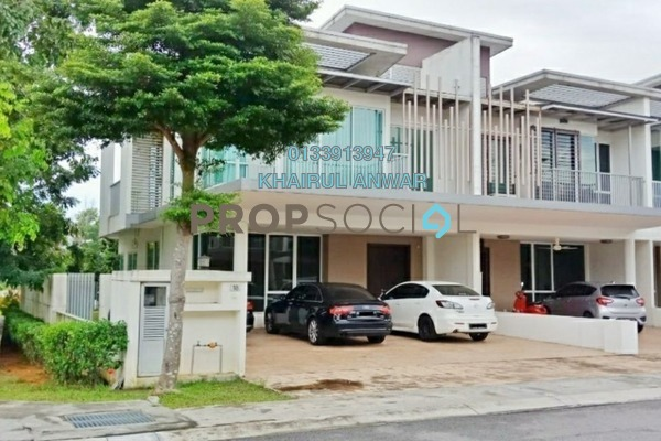 For Sale Terrace at Garden Residence, Cyberjaya Freehold Semi Furnished 4R/4B 1.25m