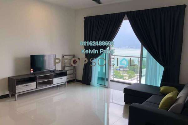 For Rent Condominium at Vertiq, Gelugor Freehold Fully Furnished 3R/2B 2.5k