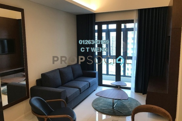For Rent Condominium at Tribeca, Bukit Bintang Freehold Fully Furnished 1R/1B 3.9k