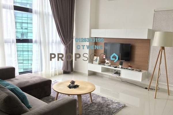 For Rent Condominium at Mirage Residence, KLCC Freehold Fully Furnished 3R/4B 5.7k