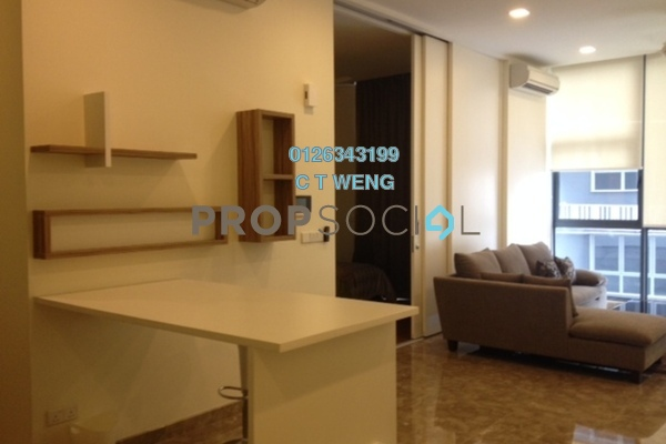 For Sale Condominium at Laman Ceylon, Bukit Ceylon Freehold Fully Furnished 1R/1B 910k