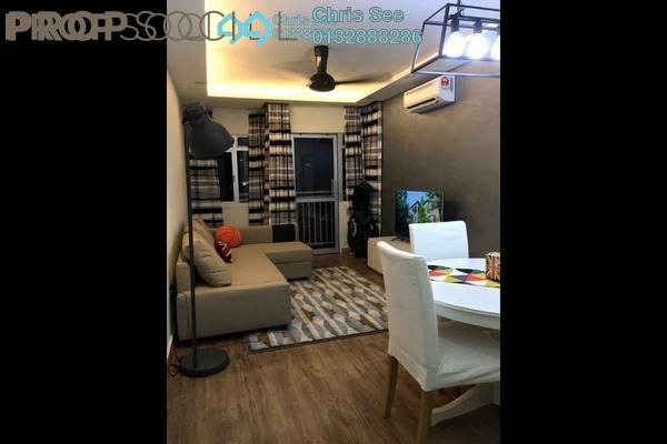 For Sale Condominium at Perdana Exclusive, Damansara Perdana Freehold Fully Furnished 2R/1B 390k