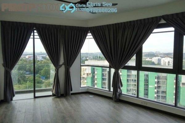 For Sale Condominium at Cristal Residence, Cyberjaya Freehold Semi Furnished 4R/3B 730k