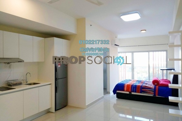 For Sale Condominium at Suria Jelutong, Bukit Jelutong Freehold Fully Furnished 1R/1B 310k