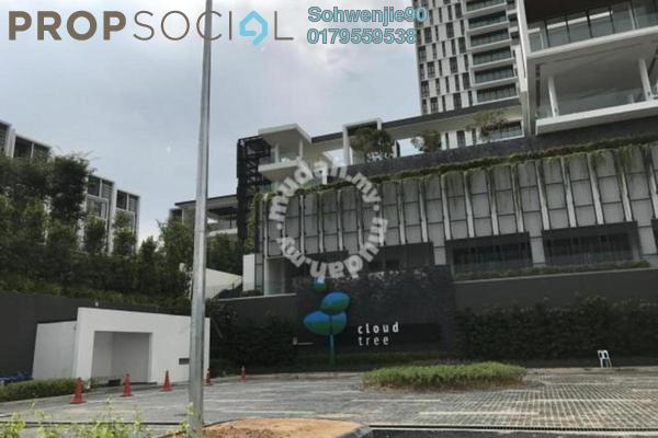 For Rent Condominium at CloudTree, Bandar Damai Perdana Freehold Semi Furnished 3R/2B 1.3k