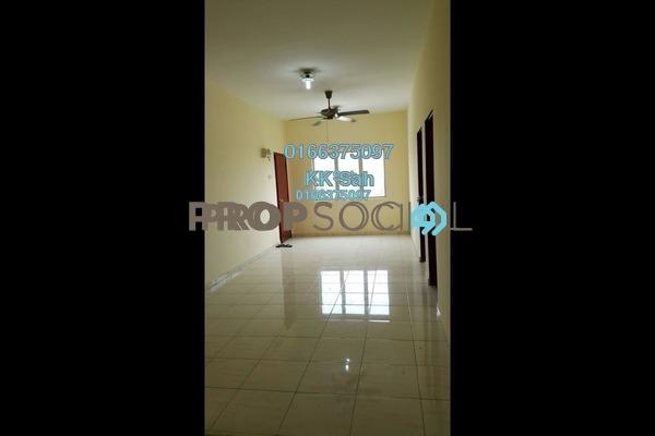 For Sale Apartment at Segar Perdana Apartment, Cheras Leasehold Semi Furnished 3R/2B 205k