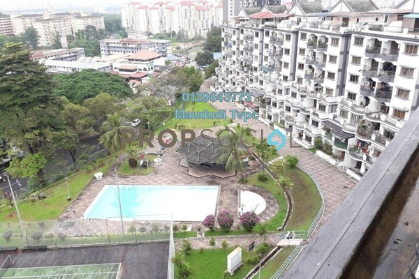 For Sale Condominium at Sri Kinabalu, Wangsa Maju Freehold Semi Furnished 4R/2B 695k