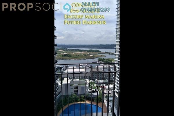 For Rent Condominium at Teega, Puteri Harbour Freehold Fully Furnished 2R/2B 2.8k