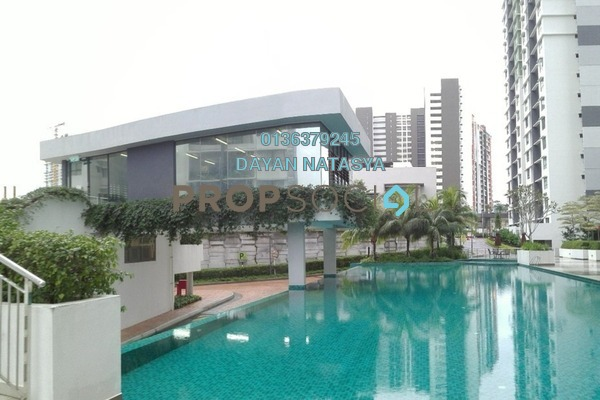 For Sale Serviced Residence at Ivory Residence, Kajang Freehold Semi Furnished 3R/2B 480k