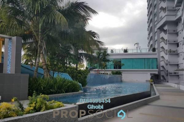 For Rent Condominium at Island Resort, Batu Ferringhi Freehold Fully Furnished 3R/2B 3k