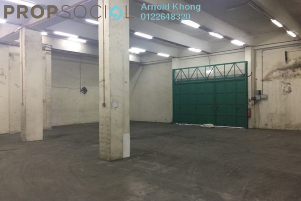 For Rent Factory at Taman Midah, Cheras Freehold Semi Furnished 0R/0B 59k