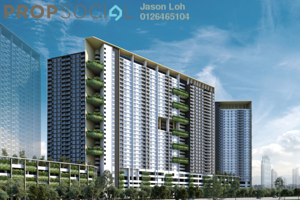 For Sale Condominium at Platinum Splendor Residence, Kuala Lumpur Freehold Unfurnished 3R/2B 300k