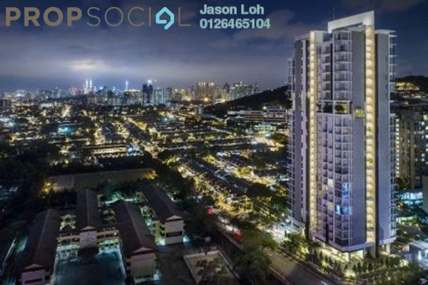 For Sale Condominium at Kenwingston Avenue, Sungai Besi Freehold Fully Furnished 3R/2B 380k