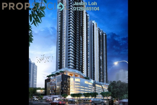 For Sale Condominium at Crest Jalan Sultan Ismail, KLCC Freehold Unfurnished 3R/2B 488k