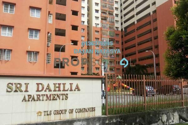 For Sale Apartment at Sri Dahlia Apartment, Kajang Freehold Semi Furnished 3R/2B 280k