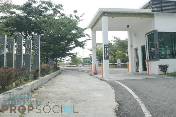 For Sale Superlink at Ficus Peak, Denai Alam Freehold Unfurnished 4R/4B 1m