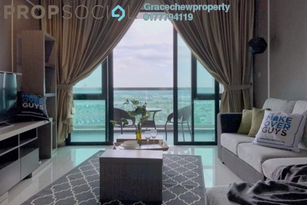 For Rent Condominium at Impiana On The Waterfront, Ampang Freehold Fully Furnished 4R/4B 2.6k