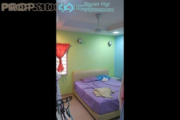 For Rent Condominium at Melur Apartment, Sentul Leasehold Fully Furnished 3R/2B 1.8k