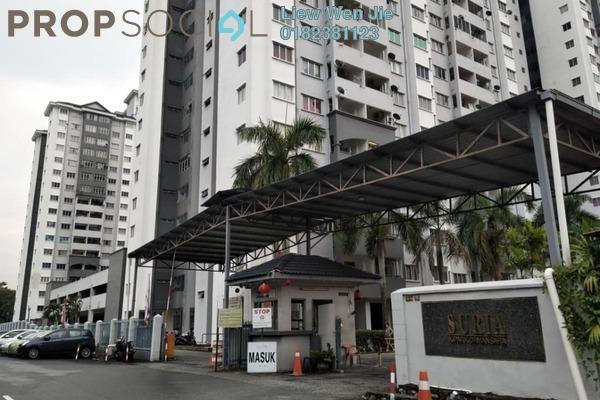 For Rent Apartment at Suria KiPark Damansara, Kepong Freehold Unfurnished 3R/2B 1.3k