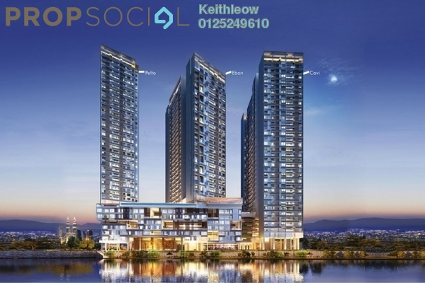 For Sale Condominium at Tria Residences @ 9 Seputeh, Old Klang Road Freehold Semi Furnished 2R/2B 620k