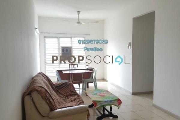 For Sale Apartment at Baiduri Courts, Bandar Bukit Puchong Freehold Semi Furnished 3R/2B 270k