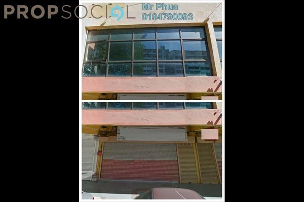 For Rent Shop at Jalan Perak, Georgetown Freehold Unfurnished 0R/0B 3.5k