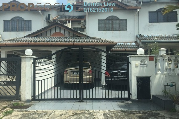 For Sale Terrace at Taman Sri Bahagia, Cheras South Freehold Unfurnished 4R/3B 499k