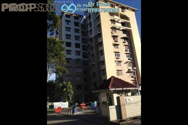 For Rent Condominium at Mahsuri Apartment, Bayan Baru Freehold Fully Furnished 3R/2B 1.1k